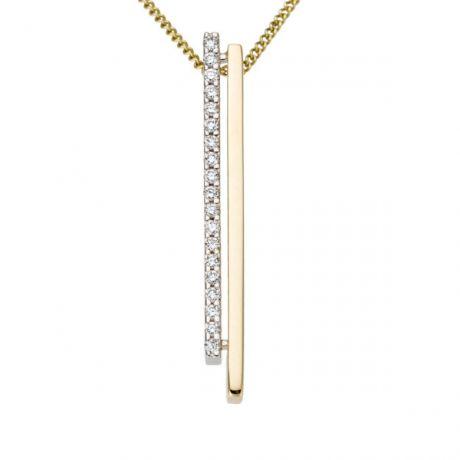 bicolor met diamant