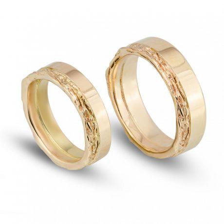 grillig/gladde ringen